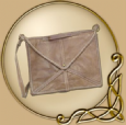 LARP Roman leather bag
